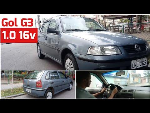 Avaliação: Gol G3 1.0 AT 16V 2001 Gasolina | Autos & Avaliações #04