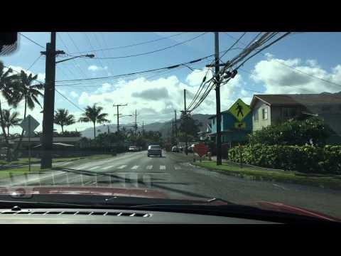 Driving North Shore Oahu 2015