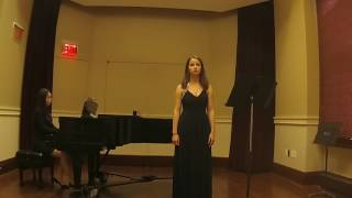 Ya Me Voy a Retirar, Carlos Guastavino, Rosalie Toupin (mezzo soprano)