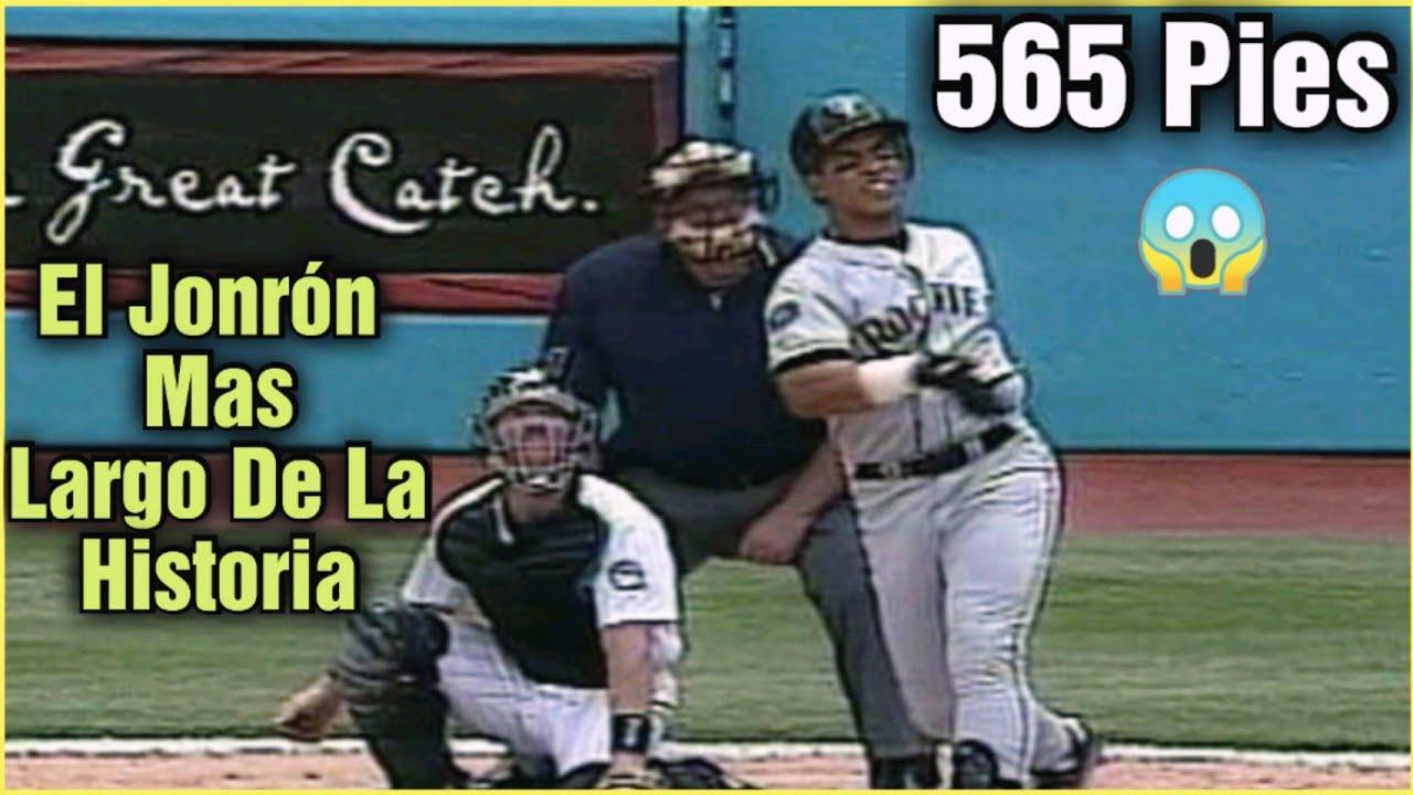 El Día que Andrés Galarraga Disparo El JONRÓN Mas Largo De la Historia En La MLB