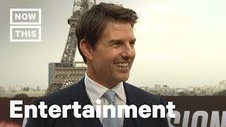 Tom Cruise Talks 'Mission: Impossible' And Incredible Stunt Work | NowThis