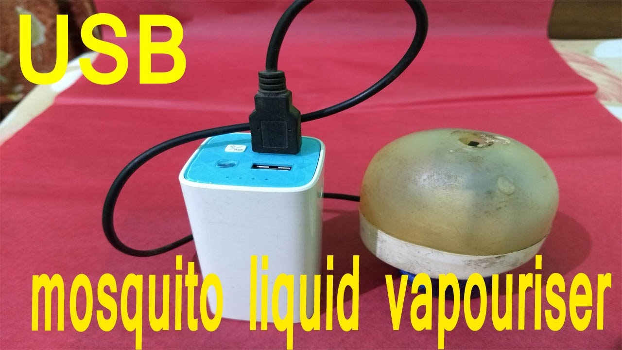 How To Make Usb Liquid Vaporizer Mosquito Remover Powered Repeller Power Saver Circuit Diy Limited