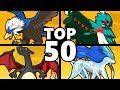 Top 50 Shiny Pokemon