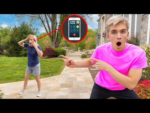Game Master Top Secret IPhone Call With Mom Sharer!! (Prison Escape Evidence Reveal)