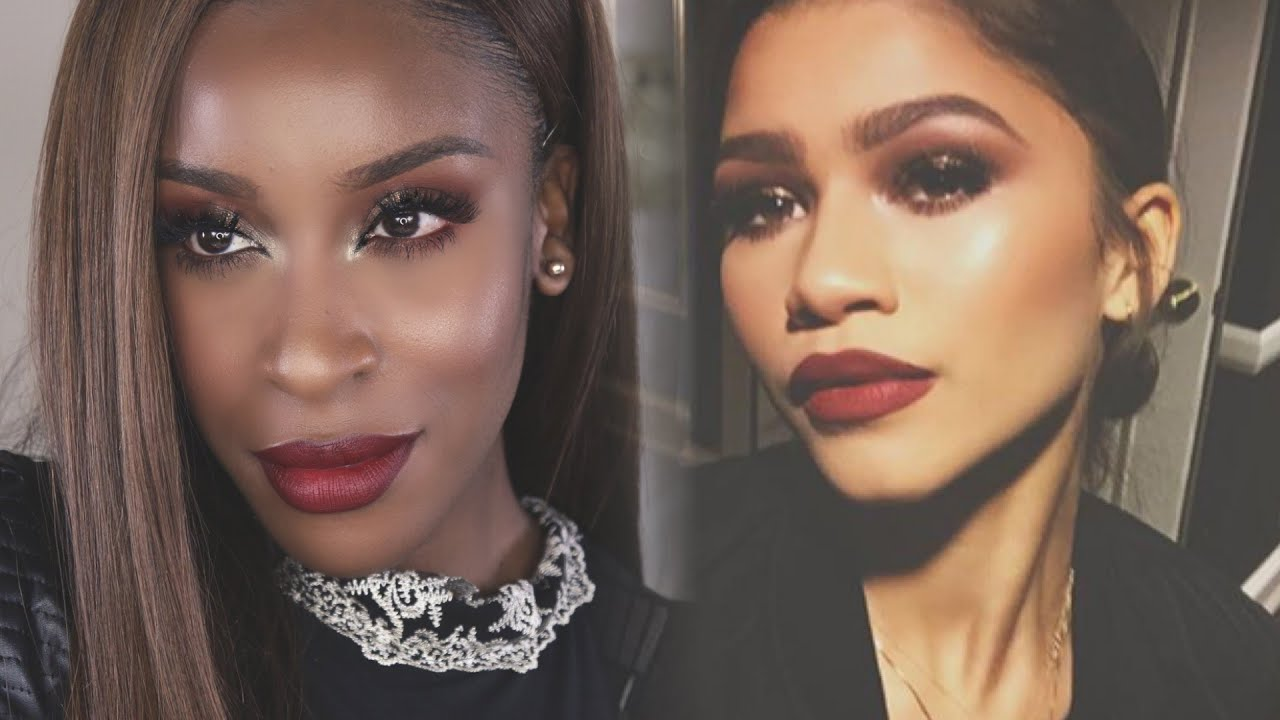 Zendaya makeup tutorial jackie aina youtube baditri Images