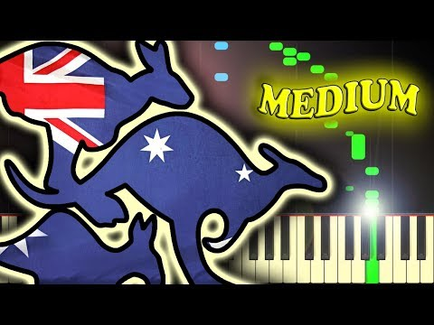 MEN AT WORK - DOWN UNDER - Piano Tutorial