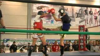 CRIVELLARI vs ARENA - Amatoriale Coppa Italia Muay Thai 2011