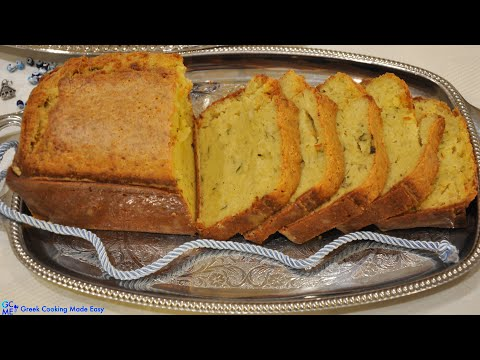 Cypriot Halloumi Cake aka Halloumopita or Halloumwti Cake – Κυπριακή Χαλουμόπιτα ή Χαλουμωτή Κέικ