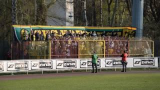 Ki7ku po7egłych na meczu Znicza Pruszków z GKS Katowice.