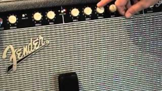 Fender Super Sonic 22 guitar amplifier demo with American Standard Stratocaster