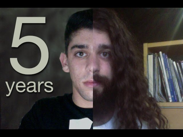 Five Years Time Lapse (half a decade of hair growth) - clipzui - in five years time