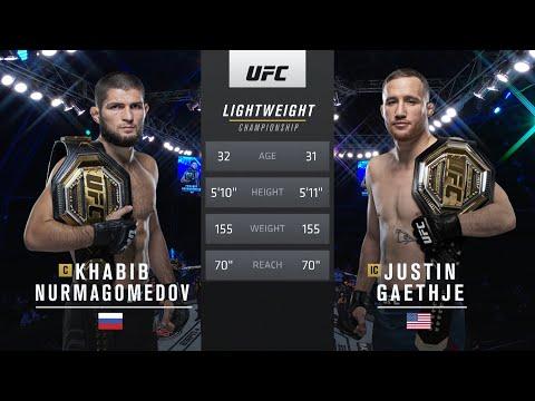 Free Fight: Khabib Nurmagomedov vs Justin Gaethje