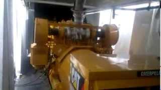 Пробний запуск двигуна Caterpillar 3512 після капремонту і монтажу в модуль ДГУ