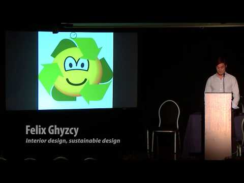 PechaKucha 2018: Felix Ghyzcy - 'interior design, sustainable design'