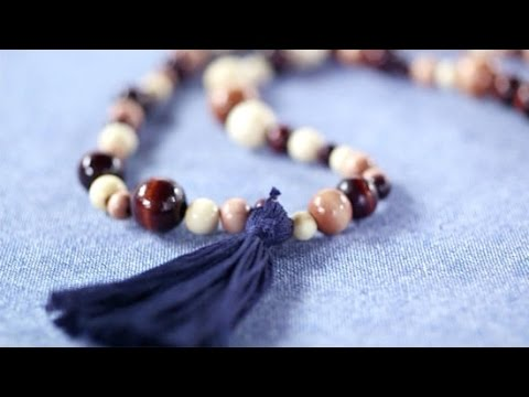 DIY Fashion | How to Make a Beaded Tassel Necklace