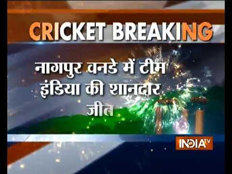 IND VS AUS 5th ODI: India thump Australia 4-1 to reclaim No. 1 ranking