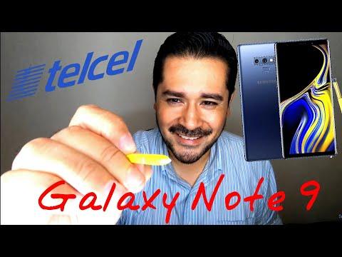 Samsung Galaxy Note 9 en México, unboxing, características y opinión.