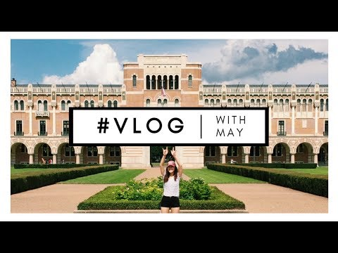 8-20-17 RICE VLOG | visiting friends at rice university