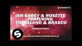 Ian Carey & Rosette feat. Timbaland & Brasco - Amnesia (Firebeatz Remix) [Teaser]
