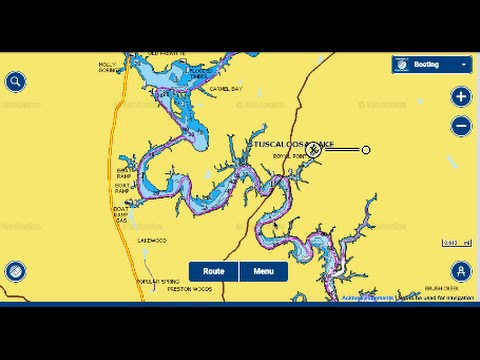 How To Break Down A Lake, Tuscaloosa Lake In Alabama