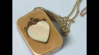 Darling Miniature Musical Pendant or Fob Reuge Music Box Let Me Call you Sweetheart