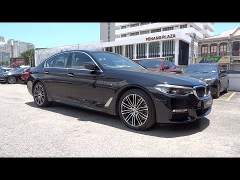 2017 BMW 530i M Sport Start-Up and Full Vehicle Tour