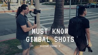 MUST-KNOW Gimbal Shots With Zhiyun Crane 2 | Sony A7R3 | By  Momentum Productions
