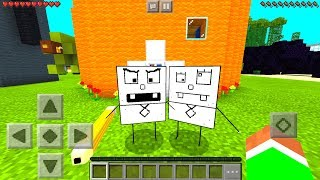 Minecraft PE : SPONGEBOB MOD in Minecraft Pocket Edition