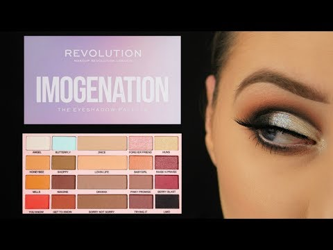 Testing Imogenation X Revolution Eyeshadow Palette   Eimear McElheron
