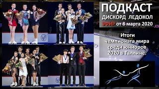 Итоги чемпионата мира среди юниоров 2020 в Таллине