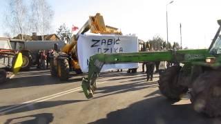 Protest rolników - Łosice (4)