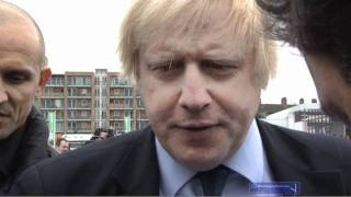 Boris Johnson kicks off London