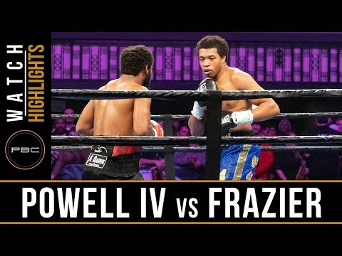 Powell IV vs Frazier FULL FIGHT: February 23, 2019 - PBC on FS1