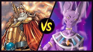 Odin VS Beerus (Marvel Comics vs Dragon Ball Super)