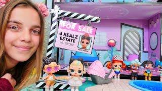 Das neue LOL Haus - Ayça packt LOL Puppen aus - Spielzeugvideo für Kinder