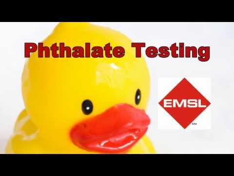 Phthalate Testing By EMSL Analytical, Inc.