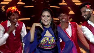 #SreeMukhi tho #StartMusicReloaded Starting Today with #BiggBossTelugu3 contestants..Today at 12 PM