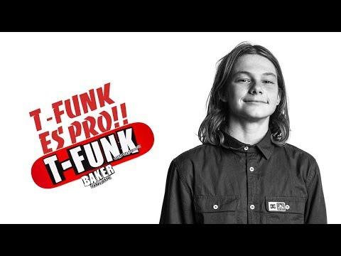 T-FUNK ES PRO! Tristan Funkhouser BAKER Skateboards [SK8SPOTSMX]   Quick New