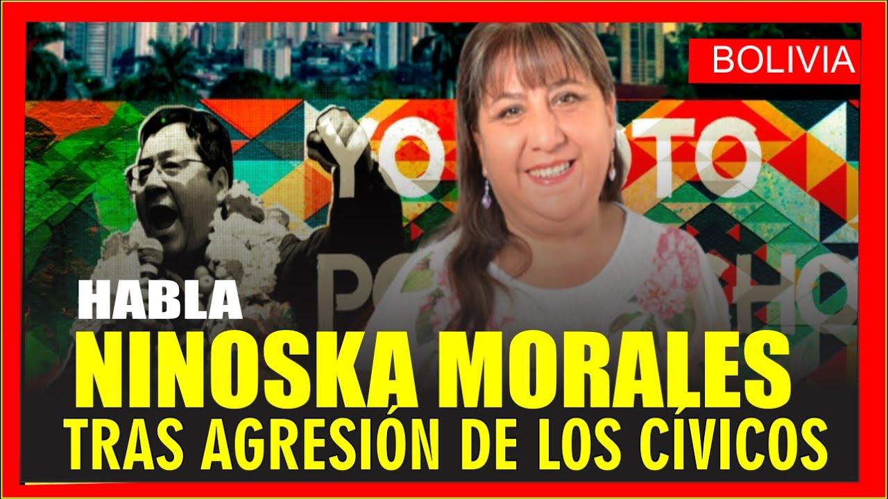 Candidata a Dip. Ninoska Morales en dialogo con bolivianos en el exterior