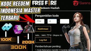 JANGAN SAMPAI TELAT !!! BAHAS LENGKAP TENTANG KODE REDEEM TERBARU FREE FIRE INDONESIA MASTER