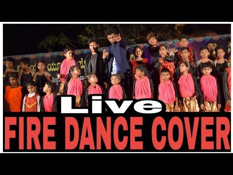 FIRE - Chandan Shetty | #RAMESHJACKSON | Dance  Video Song | Kannada Rap | 2018