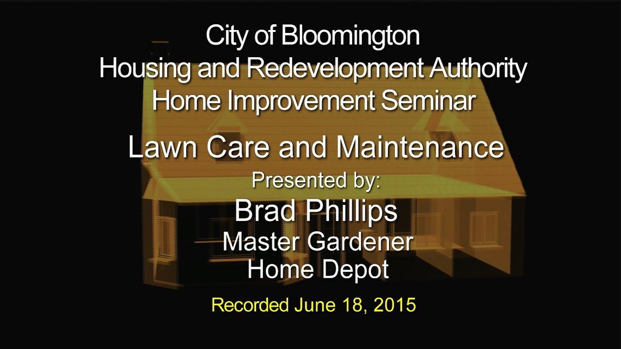 HRA Seminar Lawn Care and Maintenance
