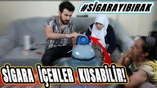 GARANTİ EDİYORUM SİGARAYI BIRAKACAKSINIZ!! | #DenedikOldu