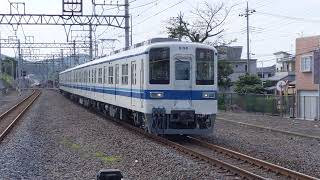 東武8198F 南栗工出場 返却回送 武蔵嵐山通過