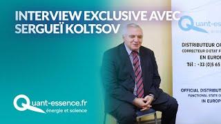 L'inventeur des CEF, Sergueï Koltsov, répond à vos questions