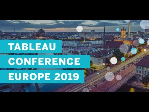 Tableau Conference Europe 2019