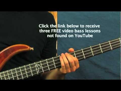 free bass guitar lesson waiting on the world to change john mayer ...