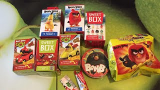 Распаковка Sweet Box Angry Birds и другие вкусняшки от бешенных птичек.