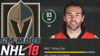 JAGR BOMBER - NHL 18 - GM Mode Commentary - Vegas ep. 2
