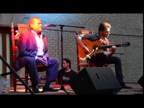 Andres de Jerez, Cante Grande en el Festival Arte flamenco Estella Lizarra 2015